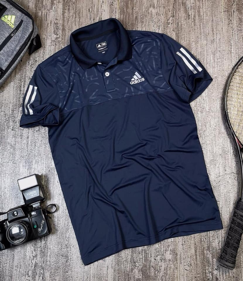 Áo Thể thao nam Adidas xanh đen Z103 - Lapoja