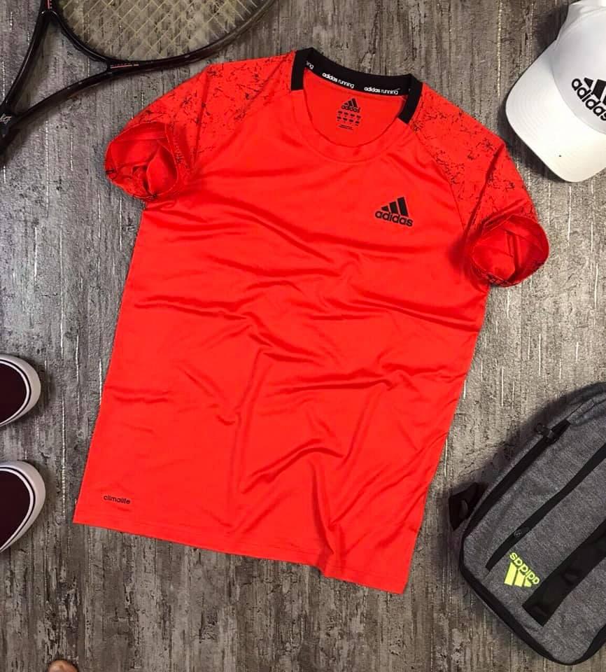 Áo Thể thao nam Adidas cam K103 - Lapoja